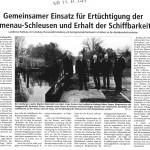 25.11.2013 Artikel Winsener Anzeiger