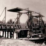 Reparatur der alten Brücke