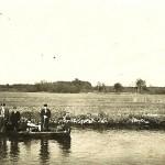 Ruderboot auf der Ilmenau