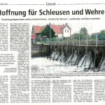 160305_LZ-Bericht Hoffnung für Schleusen und Wehre