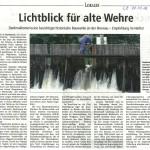 160322_LZ-Bericht Lichtblick für alte Wehre